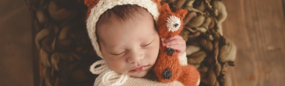 Tampa Newborn Photographer | Natural, Organic, Rustic Newborn Boy