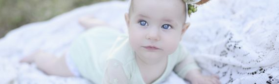 Tampa Family Photographer | Baby Charlotte – 6 Month Session at Phillipe Park