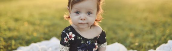 Westchase Tampa Baby Photographer    Baby Giuliana 6 Month Session in Westchase