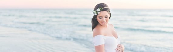 Kelly Kristine Photography | Rustic Beach Maternity Session