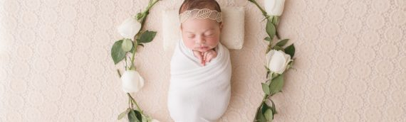 Newborn Studio Session | Baby Sofia