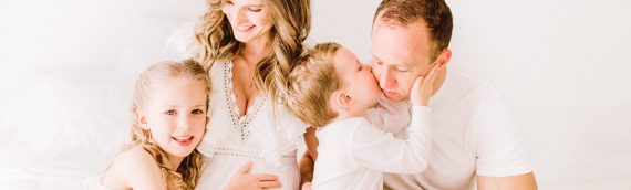 Family Studio Maternity Session | Whimsical Perfection!