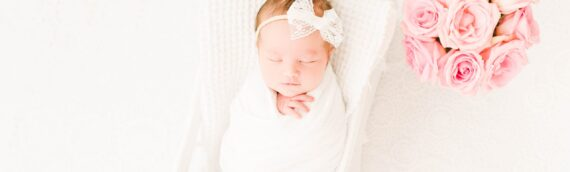 Natural Light Newborn Session | Tampa Private Studio