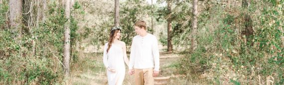 A Dreamy Location | A Beautiful Family Maternity Session
