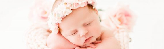 Light and Airy Newborn Session | Tampa Florida